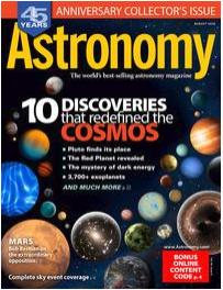 Magazine astronomy