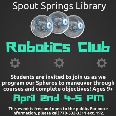 Robotics Club Article