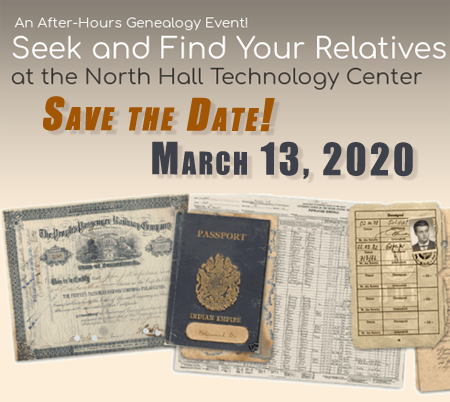 Seek save the date article March