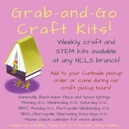 Grab and Go Craft Kits ad