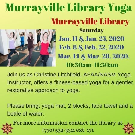 Web Murrayville Library Yoga Jan Mar 2020